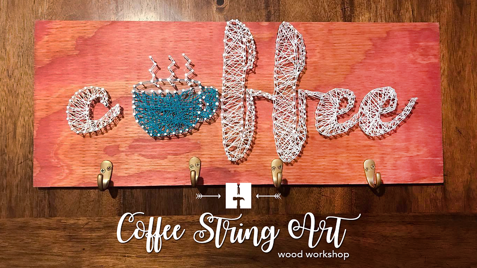 Coffee String Art