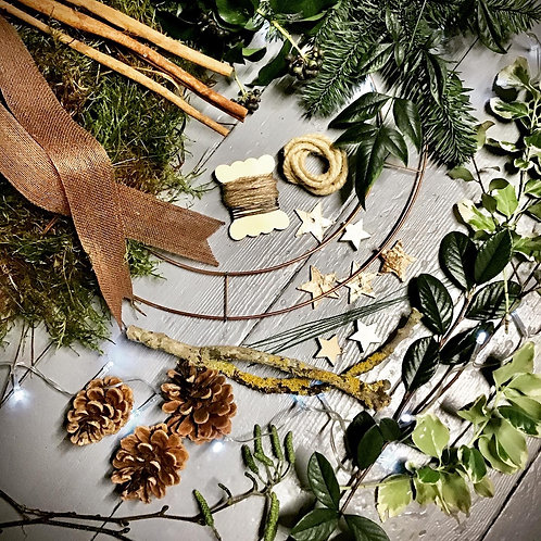 Make your own 'Woodsy' Wreath kit