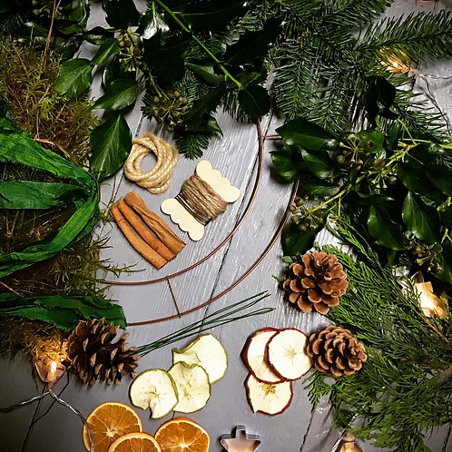 Make your own 'Fruity' Wreath kit