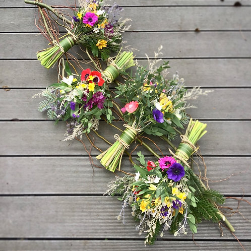 Eco Sympathy Willow coffin topper