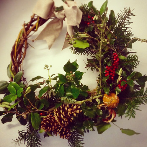 Willow Xmas Wreath