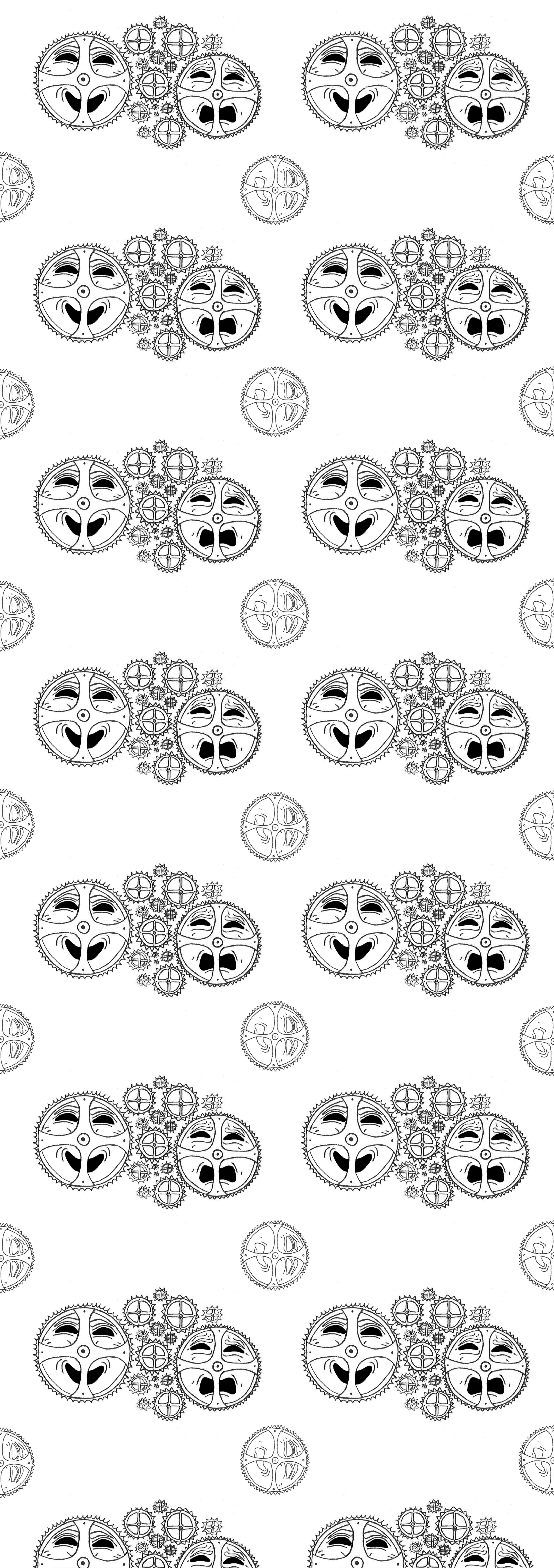 SayaOshlack Wallpaper_TemplateDesign