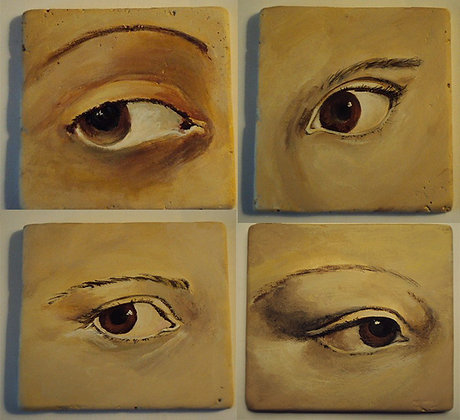 "Images of famous ""eyes"" (set of 4)"