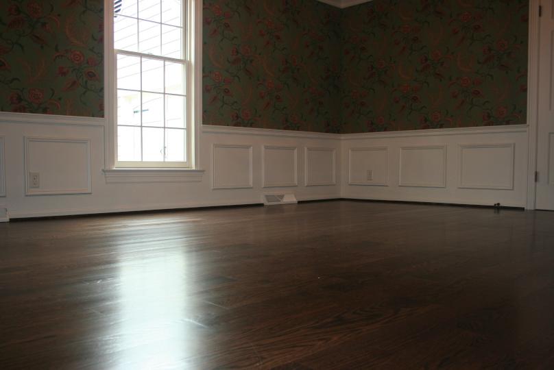 Dining room hardwood floor Refinish