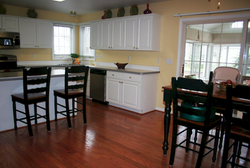 Engineered Hardwood Floor Refinish