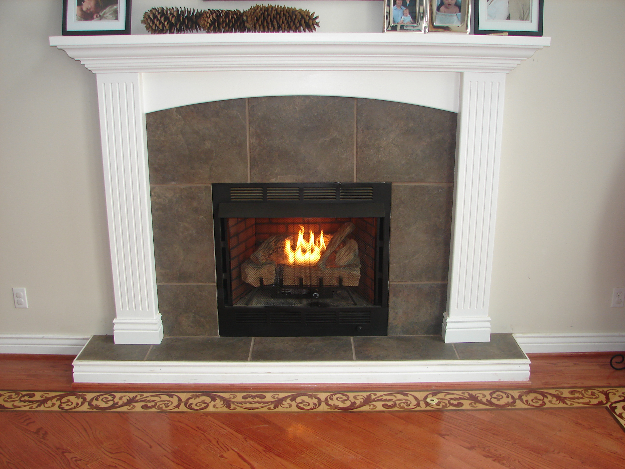 Lester Fireplace Border Detail