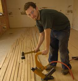 Hardwoood Floor Installation