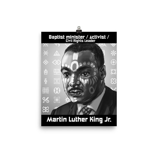 Martin Luther King Jr. 8x10 Print