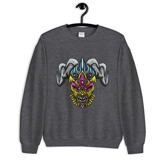 Diablo Cojuelo Amarillo Unisex Sweatshirt