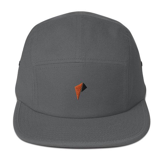 Orange an black logo 5 Panel Camper