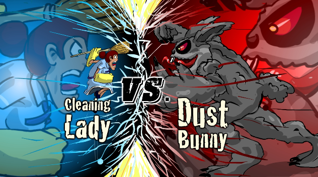 The Cleaning Lady v.s Bunny