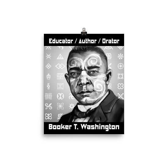 Booker T. Washington 8x10 Print