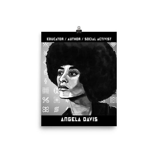 Angela Davis 8x10 Print