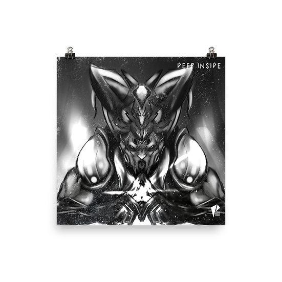 Inner Beast 10x10 Print