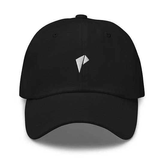 White  Logo Dad hat White logo