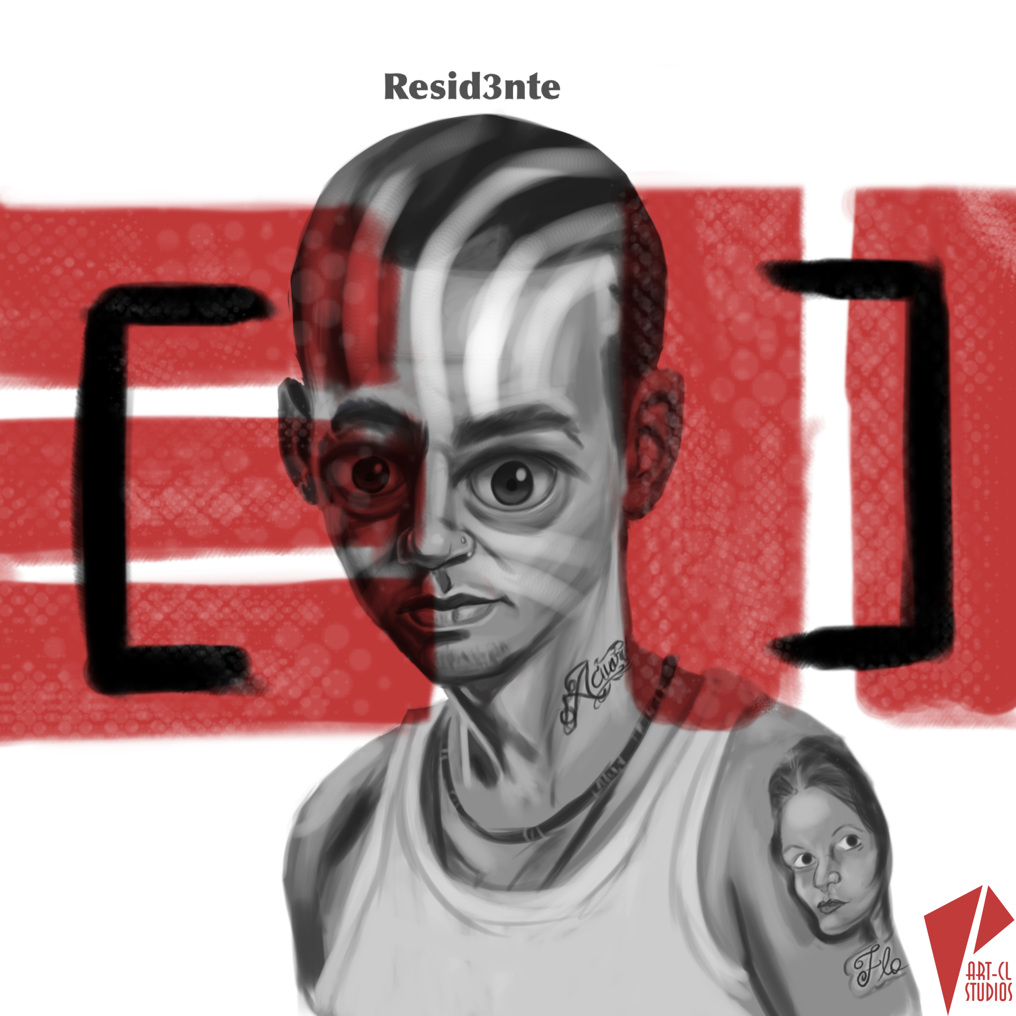 Caricature Residente