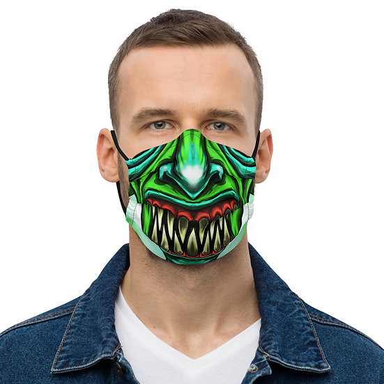Green Diablo Premium face mask