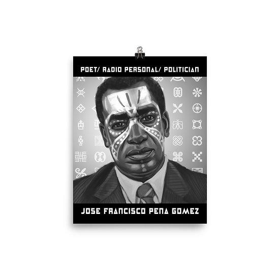 Jose Francisco Peña Gomez 8×10 Print