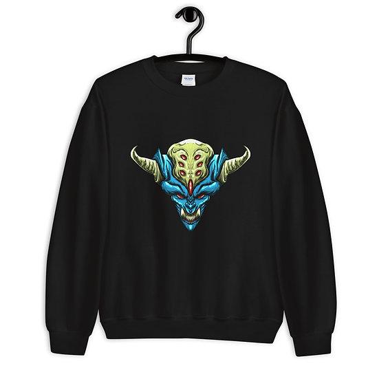 Diablo Cojuelo Azul Unisex Sweatshirt