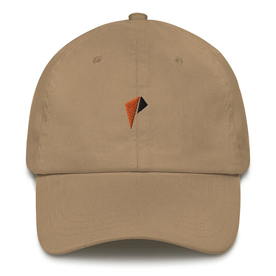 Orange and Black  Logo Dad hat Orange/Black logo