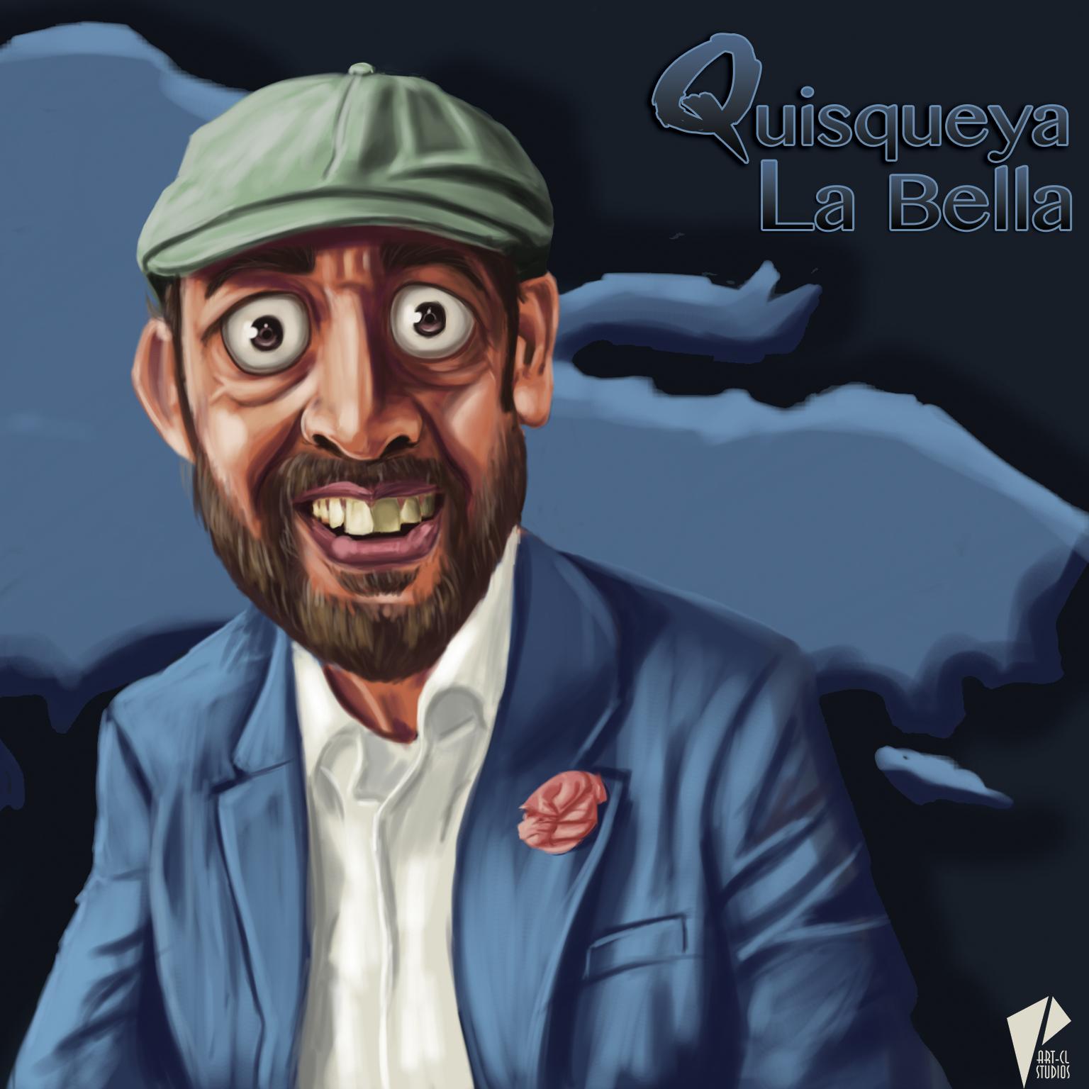 Caricature Juan Luis Guerra