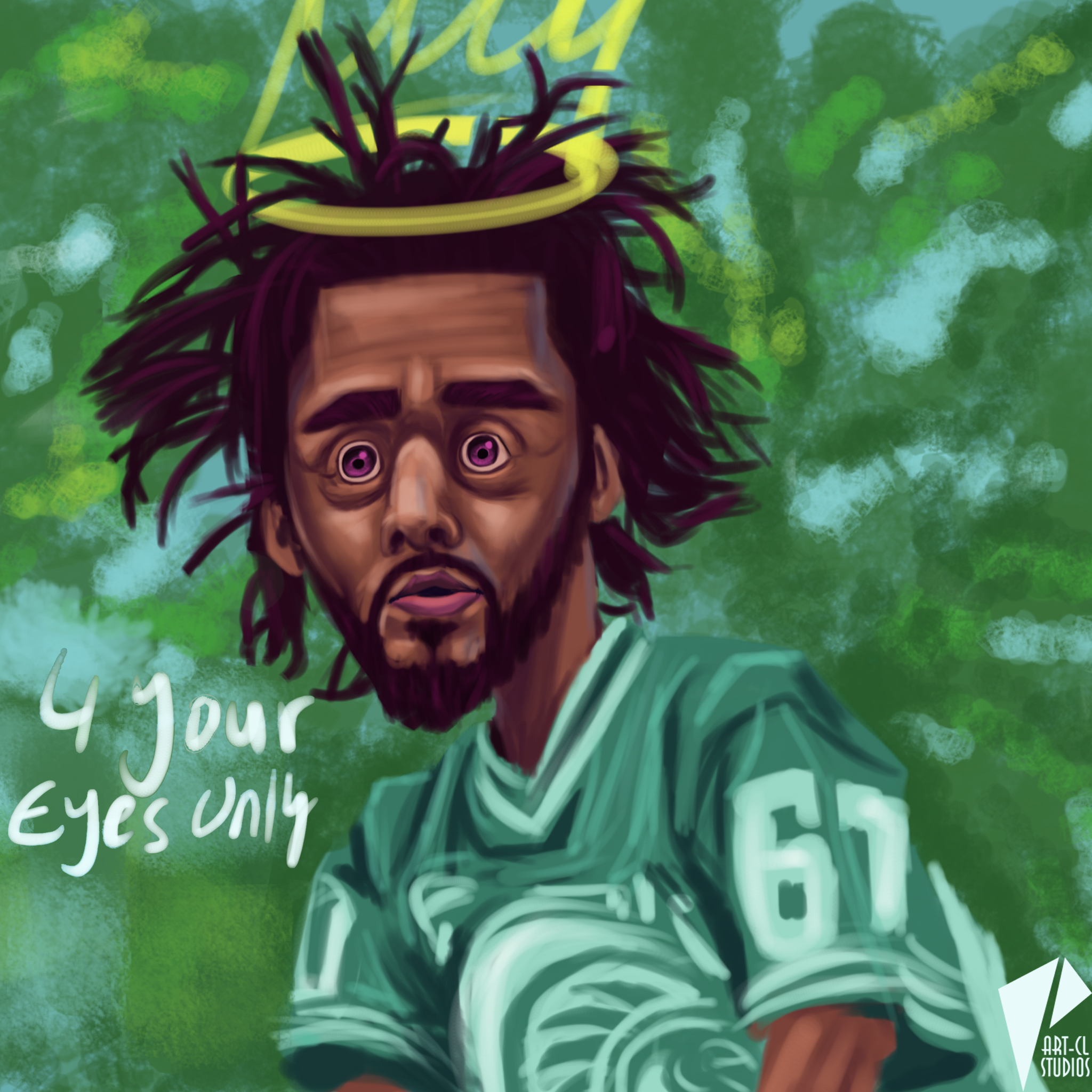 Caricature J. Cole