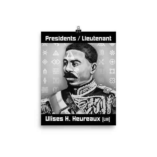 Ulises H. Heureax (Lili) 8x10 Print