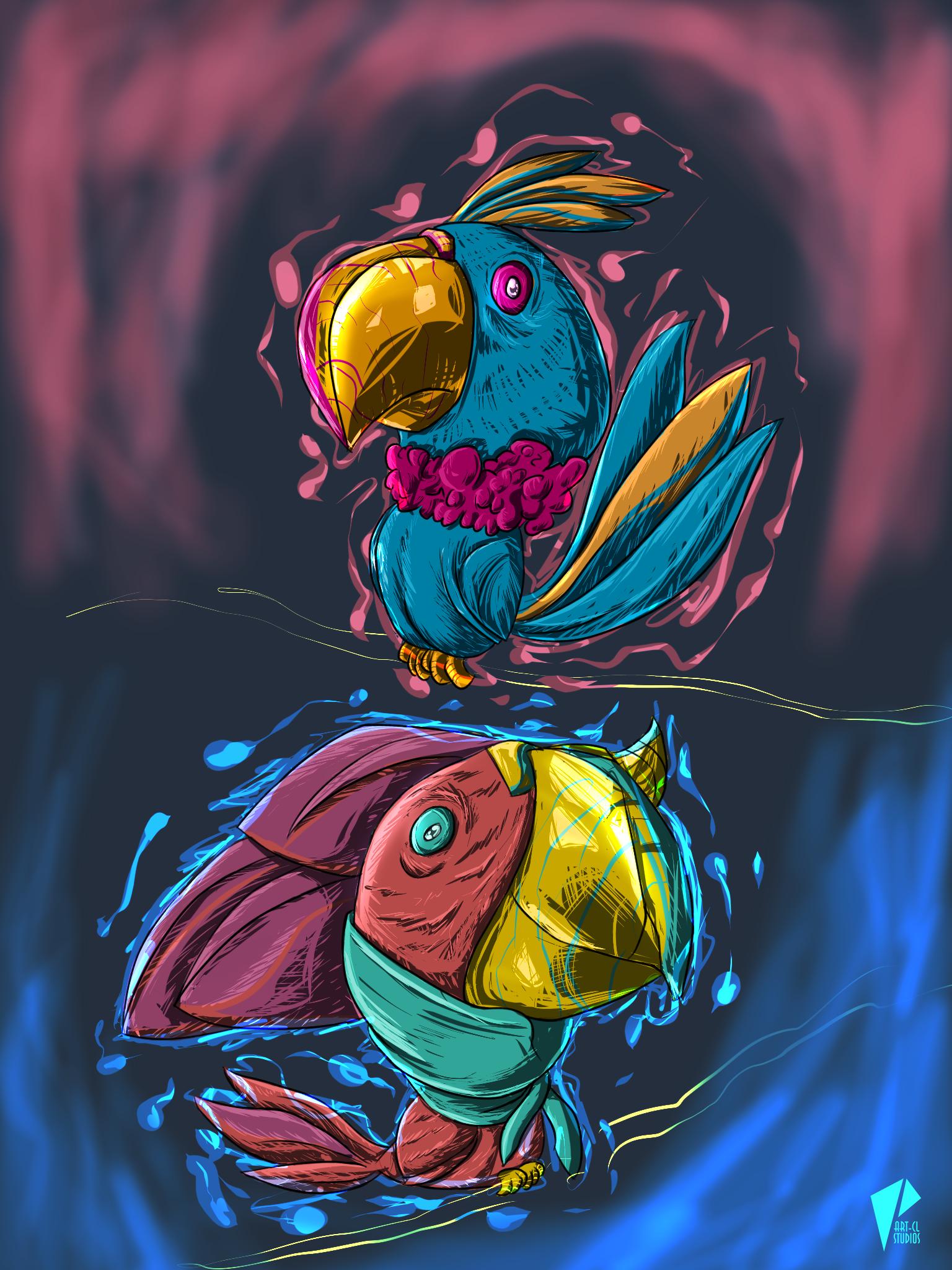 Parrots  Gosht