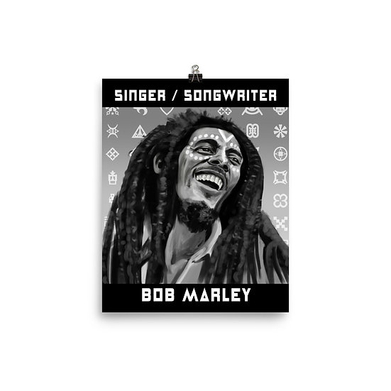 Bob Marley 8x10 Print