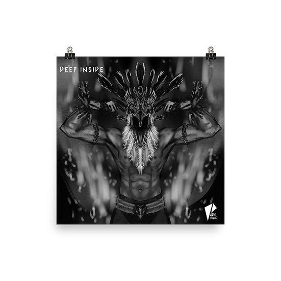 Warrior Bird 10x10 Print