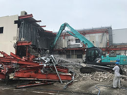 茨城県 鉄骨造解体工事