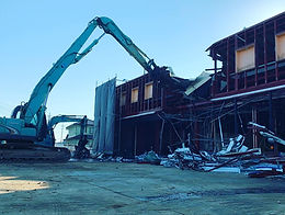 笠間市 大型商業施設解体工事