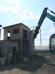 栃木市汚水処理プラント解体工事