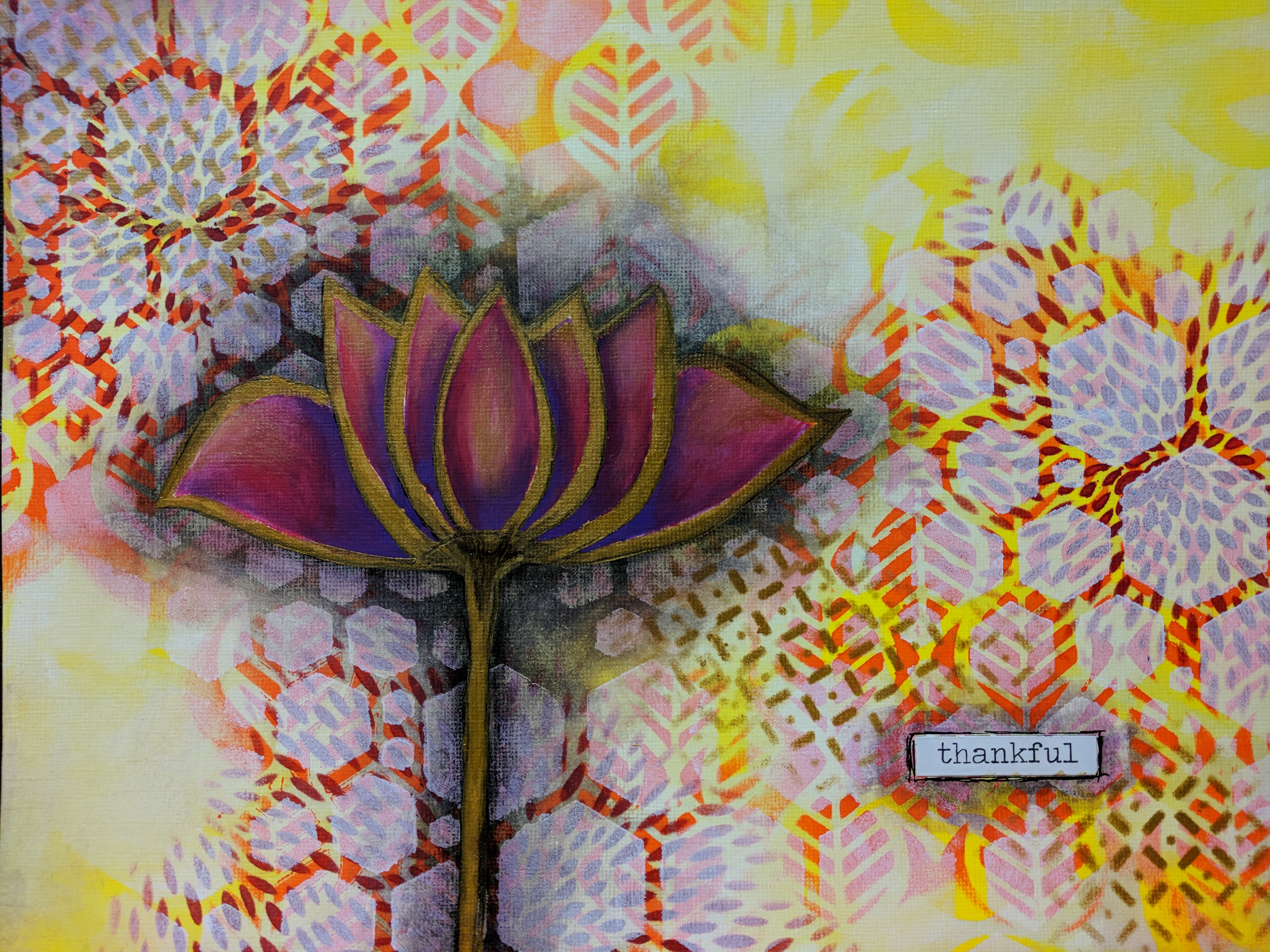 Painting from Gratitude