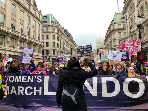 Youth Council at Women's March London