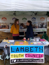 Youth Councillors at Herne Hill Market