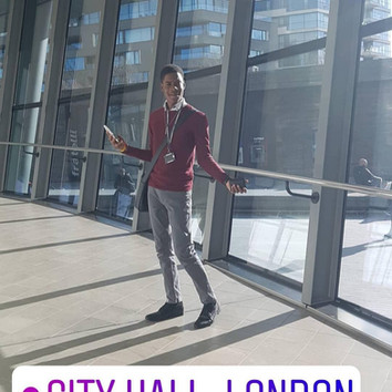 Deuvaunn, LYA member for Lambeth at City Hall