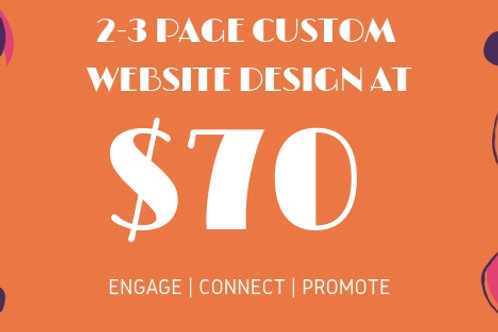 Adwords Friendly SINGLE PAGE CUSTOM WEBSITES FOR ANY BUSINESS AT $70