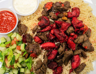 Mixed Platter ( Lamb Gyro & Chicken)