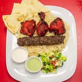 Kofta Kaboobs & Chicken Tandoori Combo