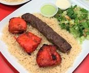 Kofta Kaboob & Chicken Tikka Combo