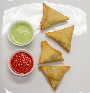 Kheema (Ground Beef) Samosas
