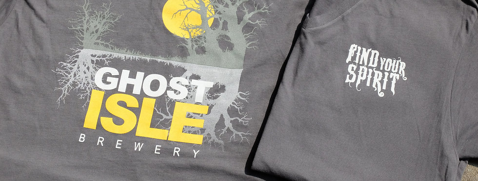 Ghost Isle Logo V-Neck Shirt