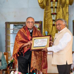felicitation  of Dr. Pankaj Manubhai Sha