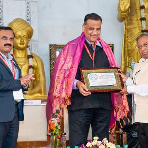 felicitation of Dr. Satyanarayan Sahu.jp
