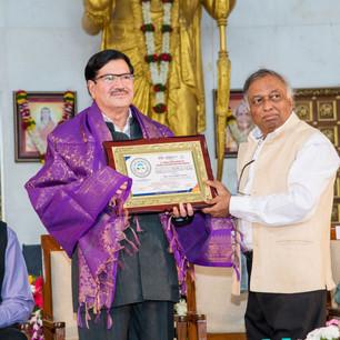 felicitation of Shri Firoz Bakht Ahmed.j