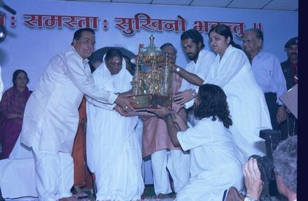 Mata Amritanandmayee Devi, spiritual leader and philanthropist