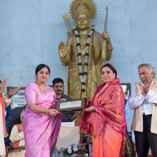 Session 5 Feliciations  of Pujya Sadhvi