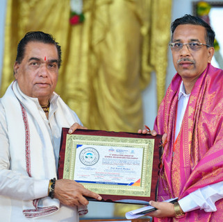felicitation of  Mr. Rajesh Bhutkar.jpg
