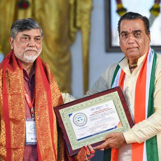 felicitation of Dr. Anil Rajvanshi.jpg